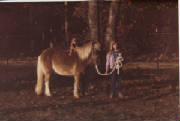 Amber with first pony